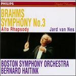 Brahms: Symphony No.3/Rhapsody, Op.53