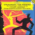 Stravinsky: The Firebird; Fantaisie for Orchestra, Op.4; Four Studies