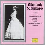 Elisabeth Schumann sings Strauss, Reger, Handel & Marx