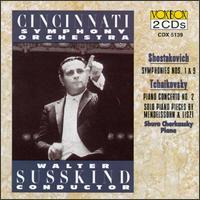 Shostakovich: Symphony Nos. 1 & 9/Tchaikovsky: Piano Concerto No.2/Mendelssohn: Fantasy In F/Rondo Capriccioso/Liszt: - Shura Cherkassky (piano); Walter Snsskind (conductor)