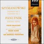 Karol Szymanowski: Symphonies Nos. 3 & 4; Panufnik: Sinfonia Votiva