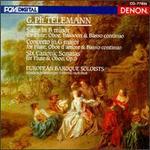Telemann: Suite in B/Concerto in G/6 Canonic Sonatas