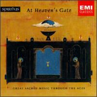 Spiritus - At Heaven's Gate - Adolf Dallapozza (tenor); Anthony Sackville (vocals); Barbara Hendricks (soprano); Berlin Philharmonic Orchestra; Brigitte Fassbaender (mezzo-soprano); Brigitte Fassbaender (counter tenor); Carolyn Watkinson (counter tenor)