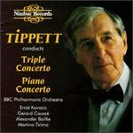 Michael Tippett: Triple Concerto; Piano Concerto