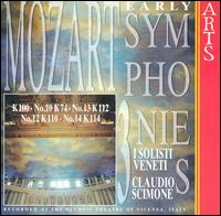 Mozart: Early Symphonies, Vol. 3 - I Solisti Veneti; Claudio Scimone (conductor)