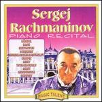 Sergei Rachmaninov Piano Recital