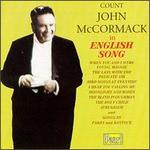John McCormack in English Song