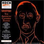 Stravinsky: L'oiseau de feu No2; Duo Concertante