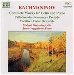 Rachmaninov: Complete Works for Cello and Piano