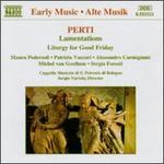 Perti: Sacred Vocal Works
