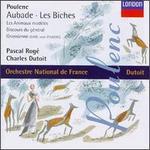Francis Poulenc: Aubade; Les Biches; Les Animaux modFles; Discours de gTneral; Gnossienne