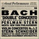 Bach: Double Concerto for Two Violins in D Minor, Violin Concertos Nos. 1 & 2 (Cbs Great Performances)