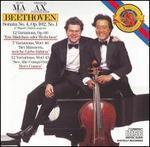 Beethoven: Cello Sonata No. 4; Variations