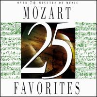 25 Mozart Favorites - Akiko Sagara (piano); Camerata Slavonica; George Silfies (clarinet); Gyorgy Pauk (violin); Jenny Lind Jones (violin);...
