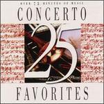 25 Concerto Favorites