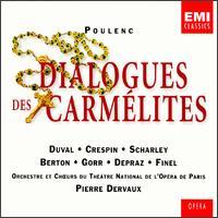 Poulenc: Dialogues des Carm�lites - Denise Duval (vocals); Denise Scharley (vocals); Liliane Berton (vocals); Paul Finel (vocals); R�gine Crespin (vocals);...