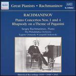 Rachmaninov: Piano Concertos Nos. 1 & 4