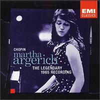 Martha Argerich Plays Chopin: The Legendary 1965 Recording - Martha Argerich (piano)