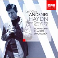 Haydn: Piano Concertos Nos. 3, 4, 11 - Leif Ove Andsnes (piano); Norwegian Chamber Orchestra