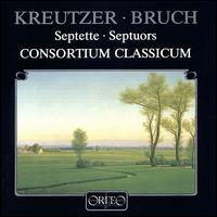 Kreutzer/Bruch: Septets - Consortium Classicum (chamber ensemble)