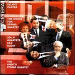 Elliott Carter: String Quartets, Vol. 2