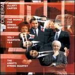 Carter: The Works for String Quartet, Vol. 1, Quartets 1 & 4