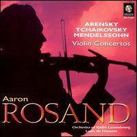 Violin Concertos - Aaron Rosand (violin); Luxembourg Radio Orchestra; Louis de Froment (conductor)