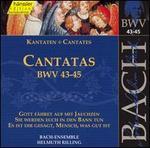 Bach: Cantatas, BWV 43-45