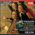 Beethoven: Missa Solemnis; Messe en ut majeur