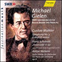 Gustav Mahler: Symphony No. 3; Schubert: Rosamunde; Anton Webern: Six Pieces for Orchestra - Cornelia Kallisch (alto); EuropaChorAkademie (choir, chorus); Freiburger Domsingknaben (choir, chorus);...