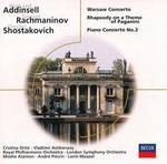 Addinsell: Warsaw Concerto; Rachmaninov: Rhapsody on a Theme of Paganini; Shostakovich: Piano Concerto No. 2