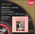 Debussy / Ravel / Stravinsky: String Quartets