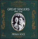 Great Singers 1909-1938
