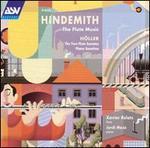 Hindemith: The Flute Music; H�ller: Flute Sonatas; Piano Sonatina