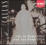 Live in Rome 1952 and San Remo 1954