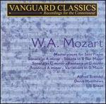 Brendel; Matthews; Kraus / Mozart: Masterpieces for Solo Piano (Vanguard) (2-Cd Set) (Atm-Cd-1195)