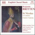 Britten-St Nicolas; Christ Nativity; Psalm 150