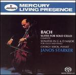 Bach: Suites for Solo Cello; Sonatas in G & D Major