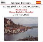 Padre JosT Antonio Donostia: Basque Preludes