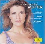 Anne-Sophie Mutter plays Dutilleux, Bart�k, Stravinsky