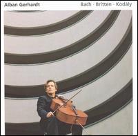 Alban Gerhardt plays Bach, Britten, Kod�ly - Alban Gerhardt (cello)