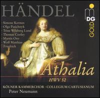H�ndel: Athalia, HWV 52 - Martin Oro (alto); Olga Pasiecznik (soprano); Simone Kermes (soprano); Thomas Cooley (tenor); Trine Wilsberg Lund (soprano);...