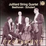 Julliard String Quartet Plays Beethoven, Schubert
