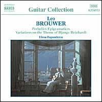 Brouwer: Guitar Music, Vol. 2 - Elena Papandreou (guitar)
