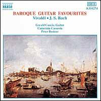 Vivaldi, J.S. Bach: Baroque Guitar Favourites - Gerald Garcia (guitar); Karol Petroczi (viola d'amore); Maria Lickova (harpsichord); Pavol Gimcik (cello); Camerata Cassovia;...