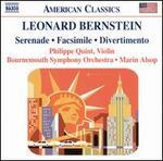 Leonard Bernstein: Serenade; Facsimile; Divertimento