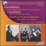 "Schubert: Piano Quintet ""The Trout""; Franck: Piano Quintet in F minor"