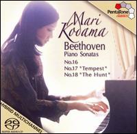 Beethoven: Piano Sonatas Nos. 16-18 - Mari Kodama (piano)
