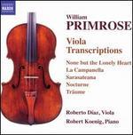William Primrose: Viola Transcriptions