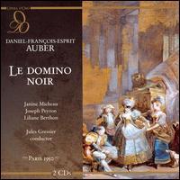 Daniel-Fran�ois-Esprit Auber: Le Domino Noir - Alda Noni (vocals); Bernard Demigny (vocals); Fernando Corena (vocals); Freda Betti (vocals); Gaston Rey (vocals);...